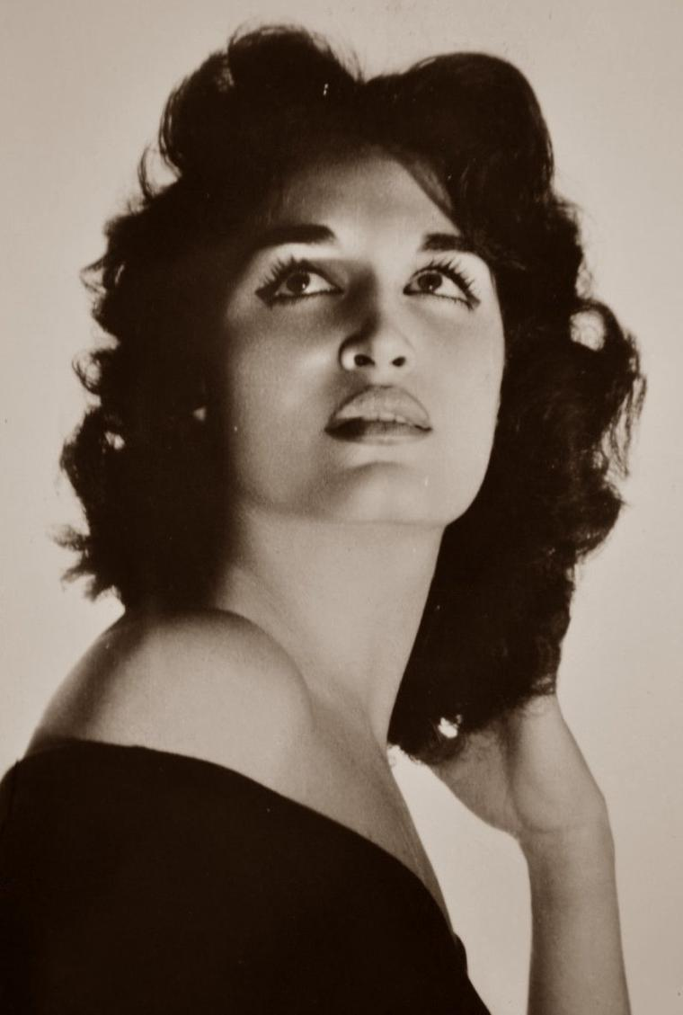 Dalida (17 Janvier 1933 / 3 Mai 1987) (photo N.B. 1954)