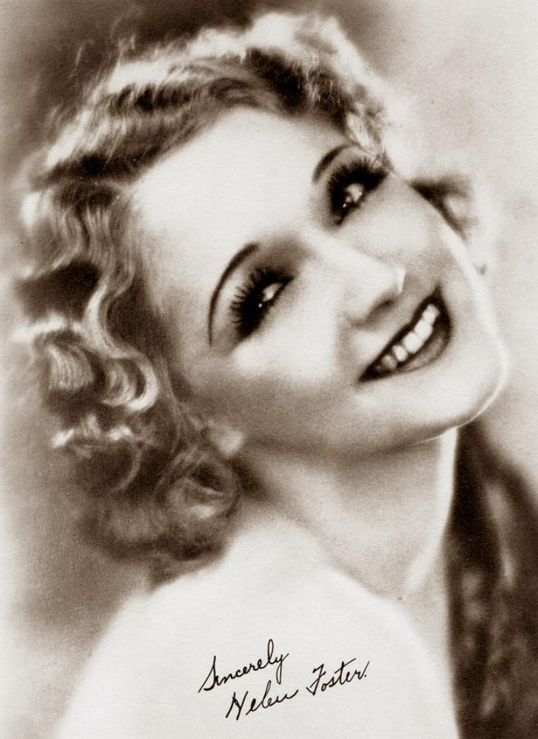 Helen FOSTER (23 Mai 1906 / 25 Décembre 1982) (photo N.B. 1931)