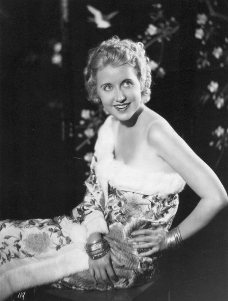 Genevieve TOBIN (29 Novembre 1899 / 21 Juillet 1995) (photo N.B. 1931)