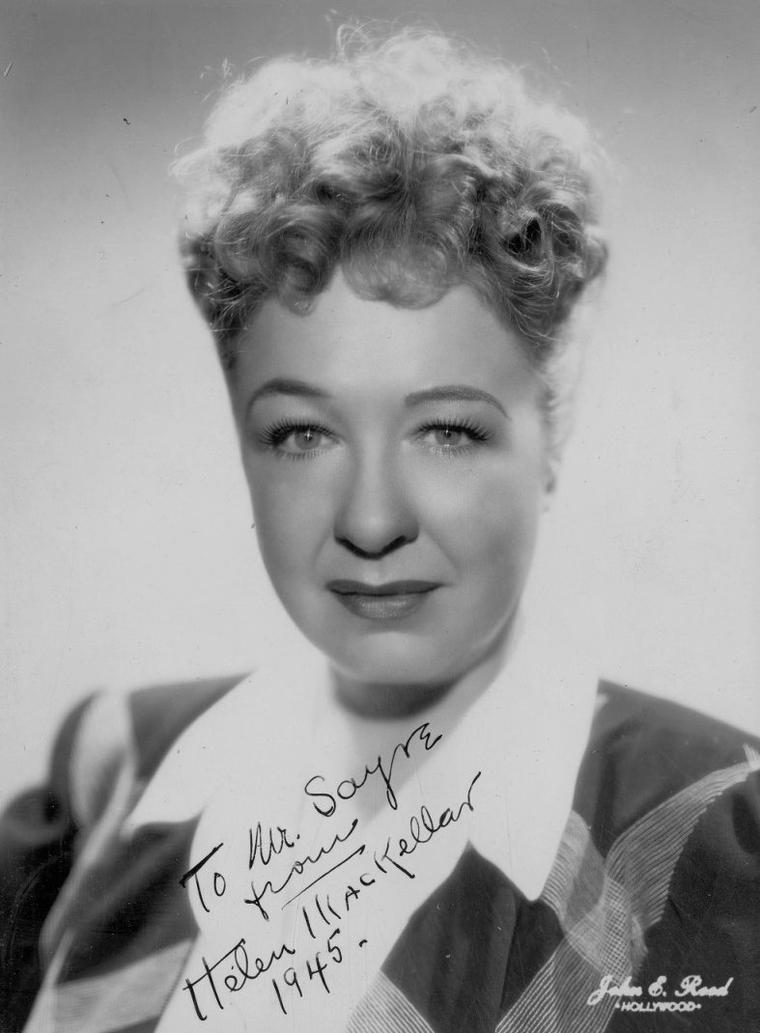 Helen MacKELLAR (13 Février 1895 / 5 Août 1966)