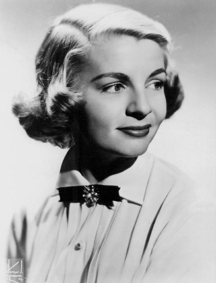 Dorothy COLLINS (18 Novembre 1926 / 21 Juillet 1994) (photo couleur 1953)