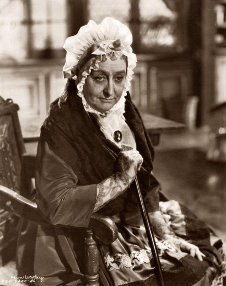 Helen WESTLEY (28 Mars 1875 / 12 Décembre 1942) (photo sépia 1934)