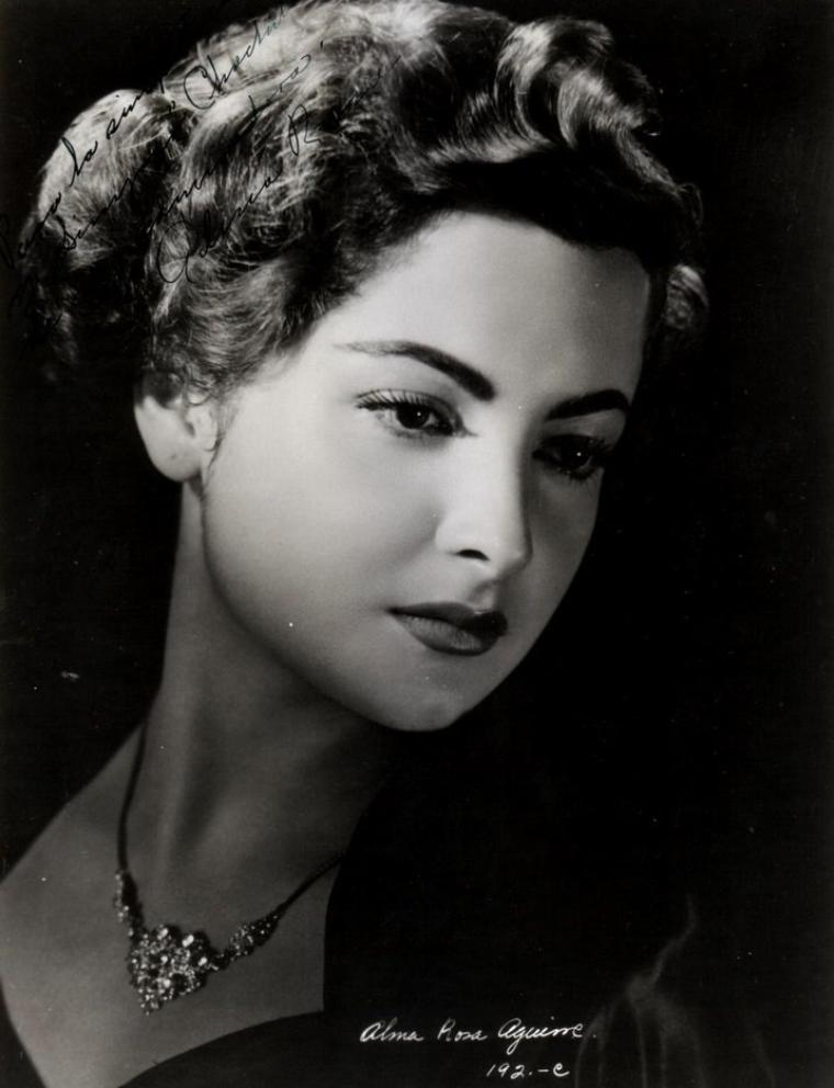 Alma Rosa AGUIRRE (19 Février 1929)