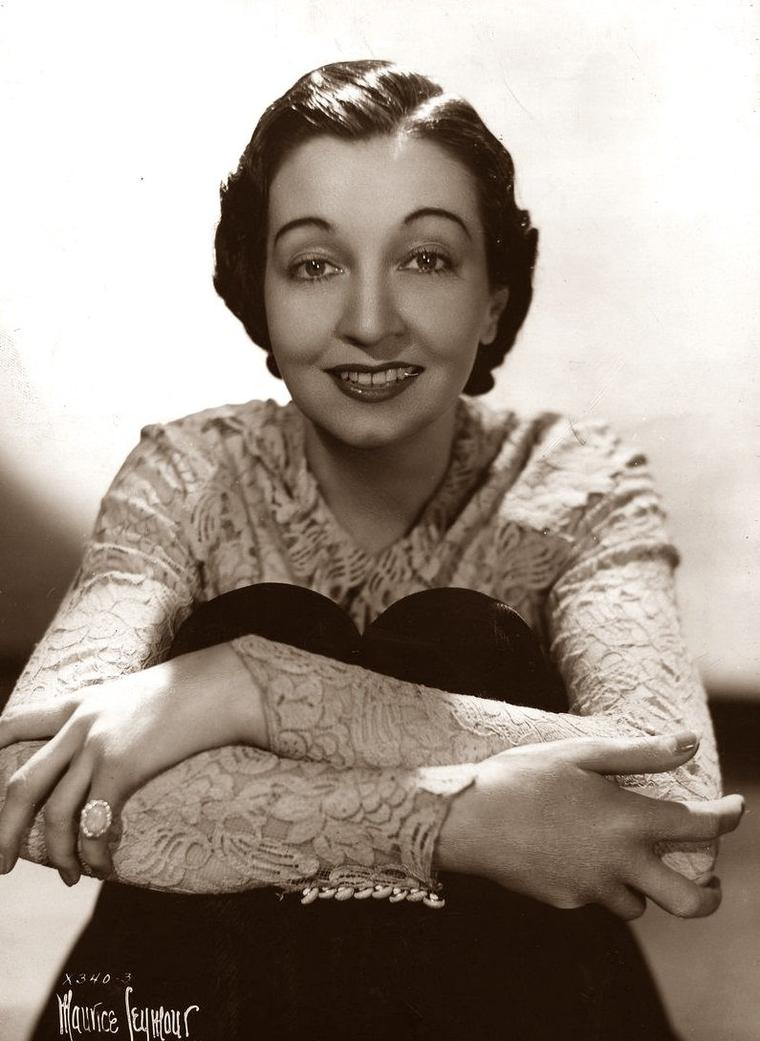 Joan BLAINE (? / ?) (photo sépia 1936)