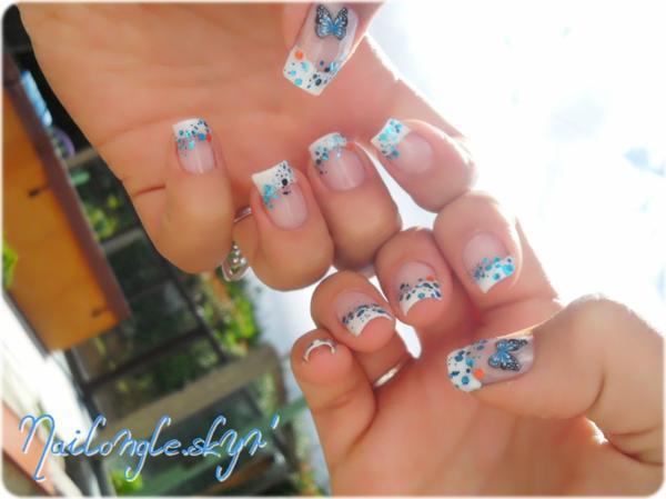 Nail art ongles & pieds avant les vacances!!