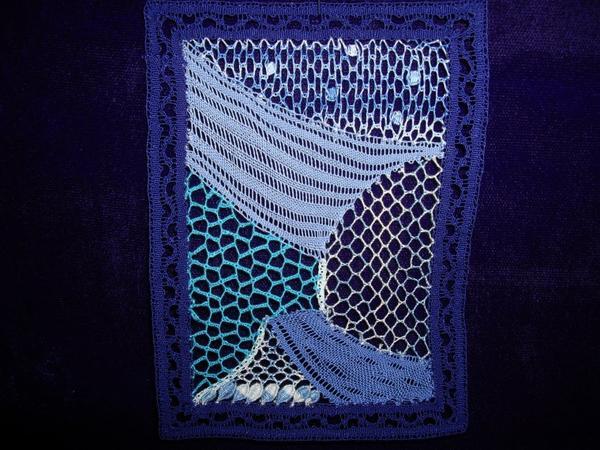 LA MER ?  LE CIEL ? tout est bleu de la part de Christiane exercice de fonds, c'est très joli.