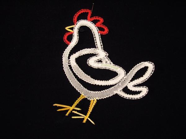 BASSE COUR...   poule ...  lapin de Cathy et Christiane