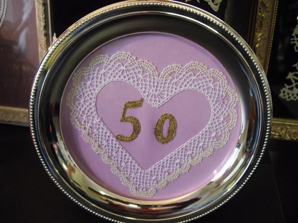 50 ANNES DE MARIAGE  joli cadeau d'Arlette