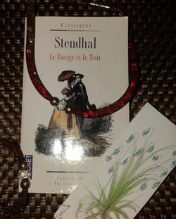 .  Le rouge et le noir - Stendhal.