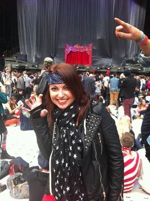 Concert Lady Gaga au Stade de France 22 Sept 2012 - Monster Pit