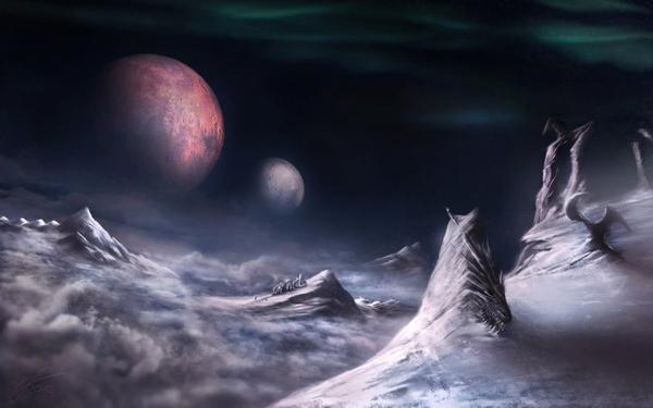 Le gros morceau : Mundus, la création du monde dans ta face.