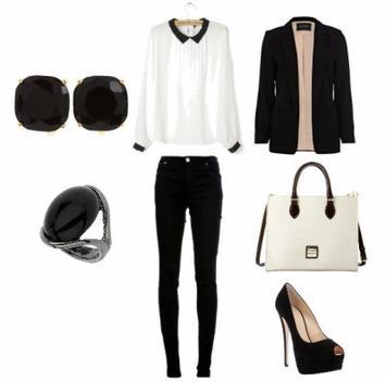 Tenue Black & White.