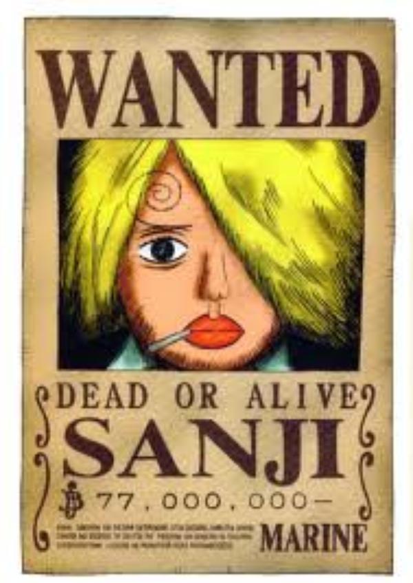 Sanji, la jambe noire