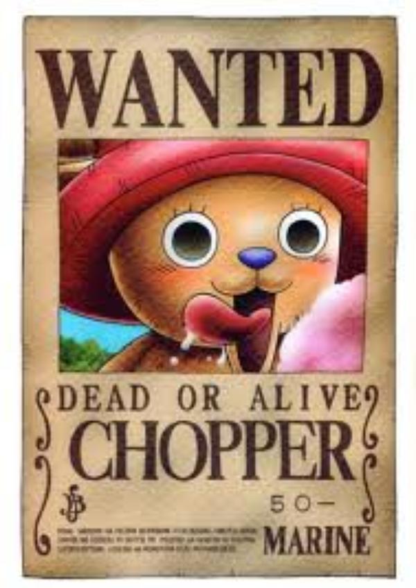 Tony Tony Chopper, le fou de barbe à papa