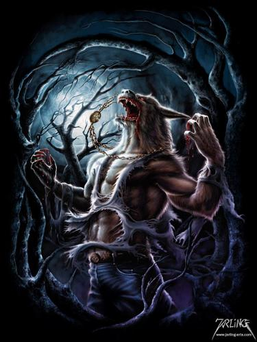 La lycanthropie.