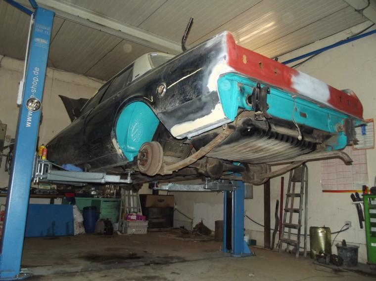 chassis de la plymouth nikel chrome comme neuf
