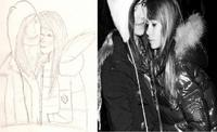 Je me suis mise à dessiner..