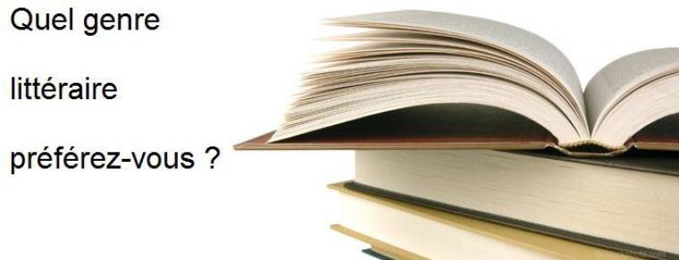 Question : Quel genre de livre préférez-vous ?