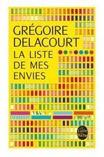 G. DELACOUR, La liste de mes envies