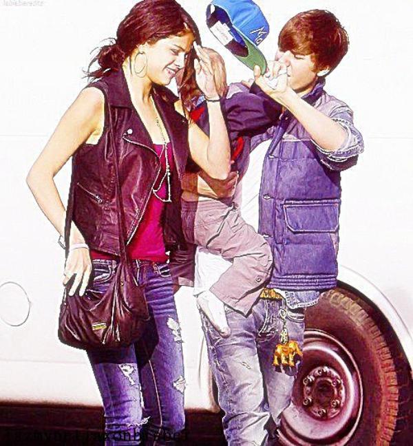 Selena, Justin et Jaxon