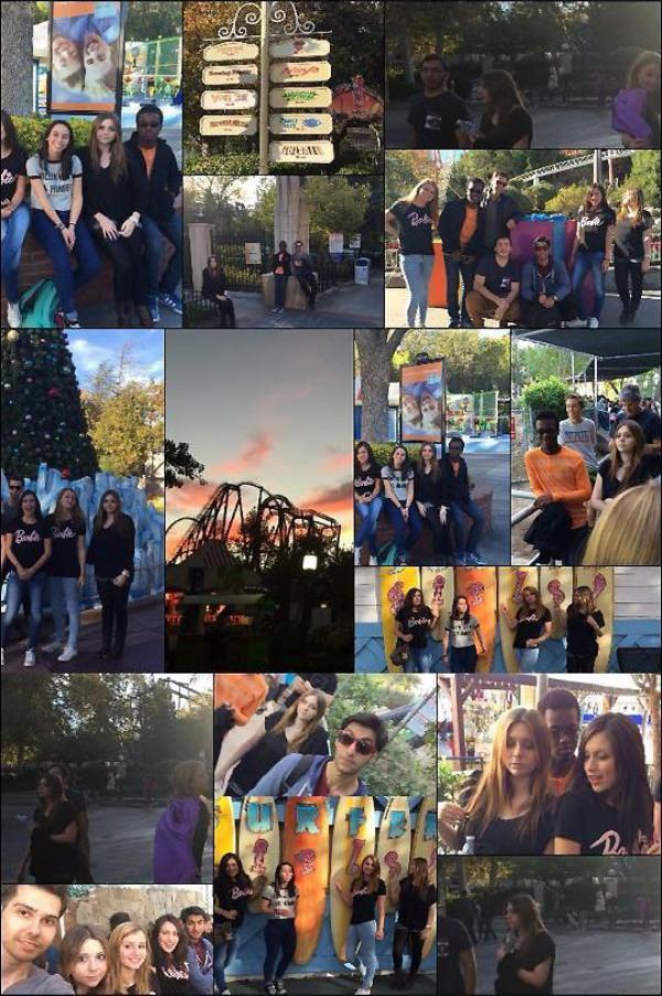 16/5/15 : Mayda a été aperçu à Six Flags, Magic Mountain, en un samedi avec ses amis, en Californie.  Ils ont l'air d'avoir passés une plutôt bonne journée à faire des montagnes russes. Top ou Flop.