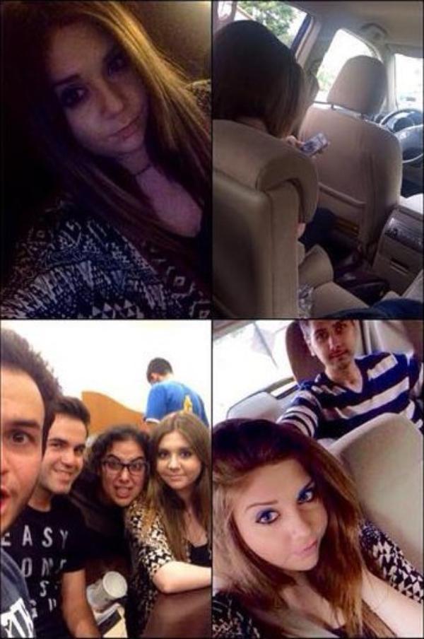 22/5/15 : Mayda a passée tout un weekend à Fresno, dans Clovis, ou elle est resté dans un hotel avec tout ses amis.
