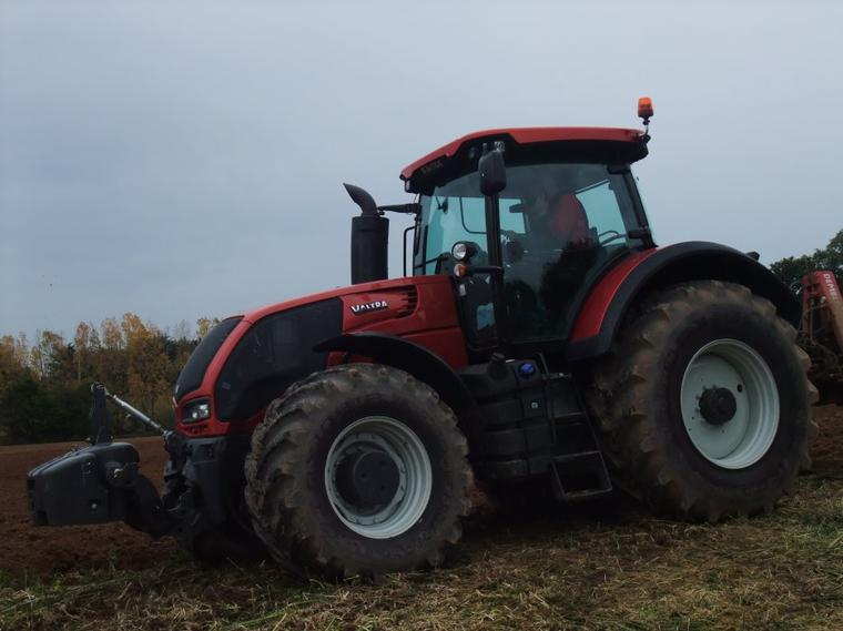 Voila mon dernier chantier de semi de blé !