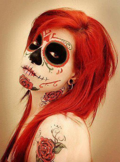 maquillage squelettique