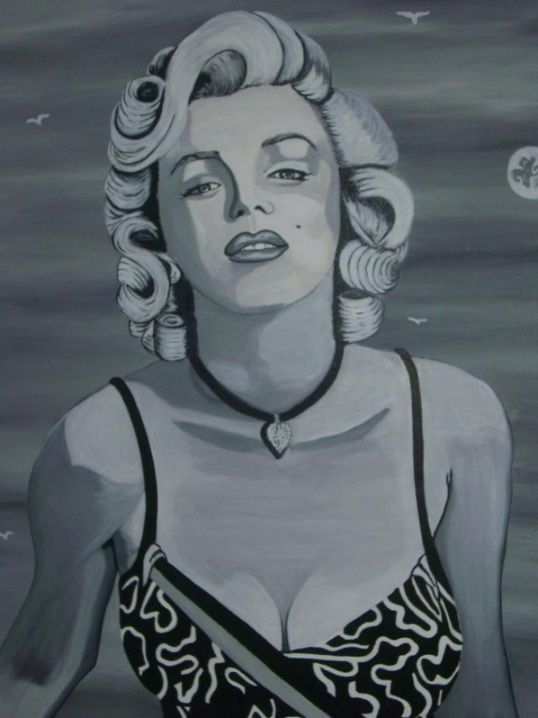 Marylin Monroe By Tatatron !!  ;)