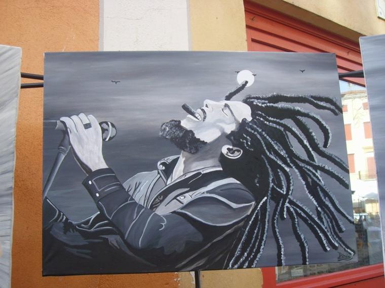 <3 Bob Marley by linda Tatatron !!!