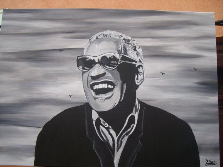 Ray Charles By Tatatron !! https://www.youtube.com/watch?v=mMbwLxOMNaI