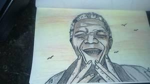 Souriez à la vie !!! By linda Tatatron !! Nelson Mandela ! bonne journée les gens !!!!