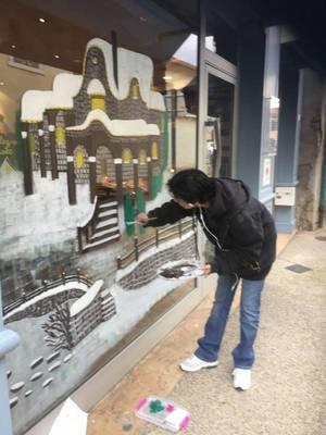 vitrine de noël !!!