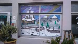 hotel de la brevenne vitrines de noël by linda Tatatron !!