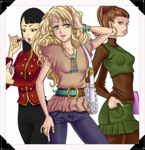 PERSONNAGES  FILLES