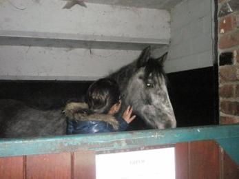 Une fille, Un poney,Une histoire...Une Complicité!
