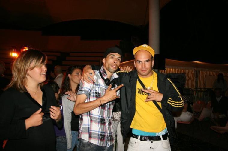 Manyone et Samboy des Brothers Crew a Juan Les Pins