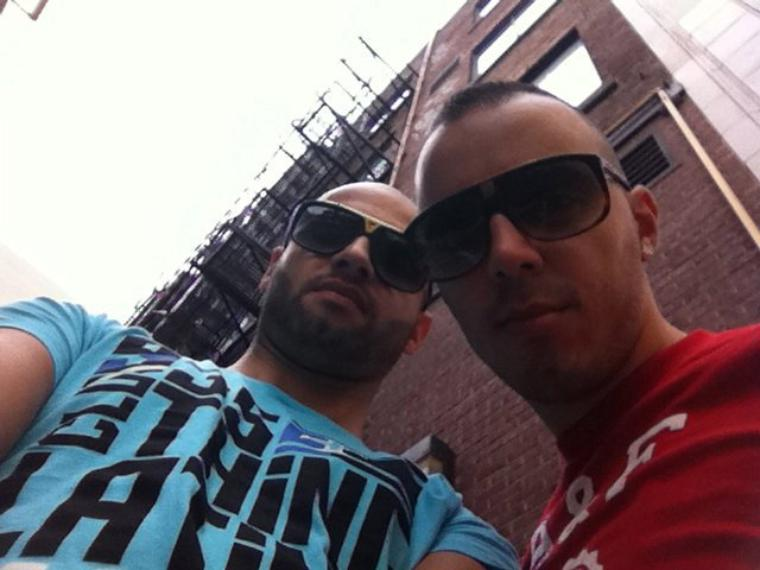 Deejay R'an Montreal with Lucenzo