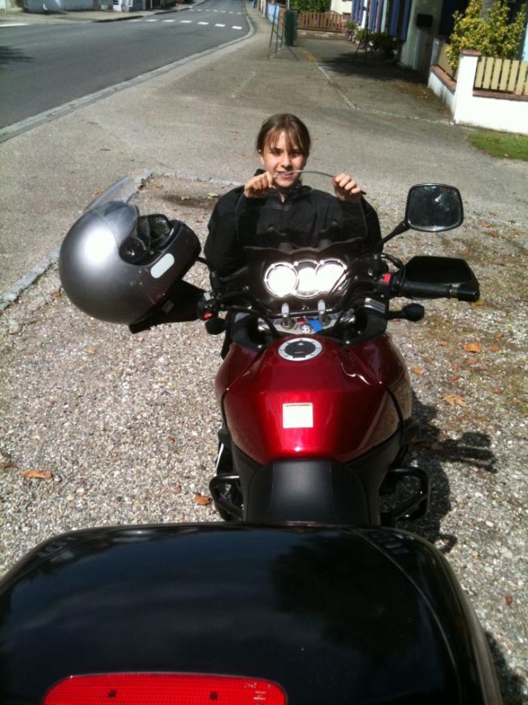 Sortie en moto