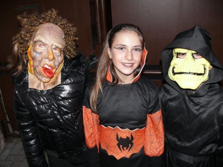Halloween chez les Djackenew