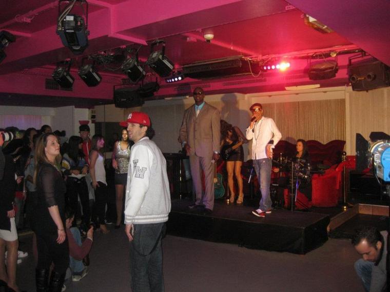 Tournage clip (MAnyOne Ft Shake) .Funky'z back
