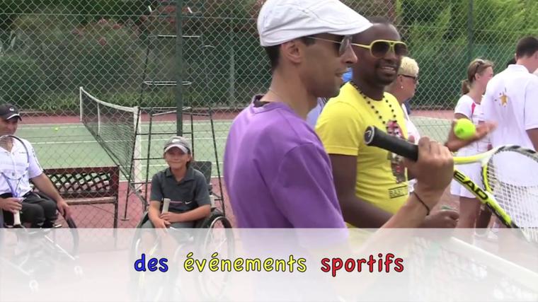 Tournoi de Tennis Association Enfant Star et Match