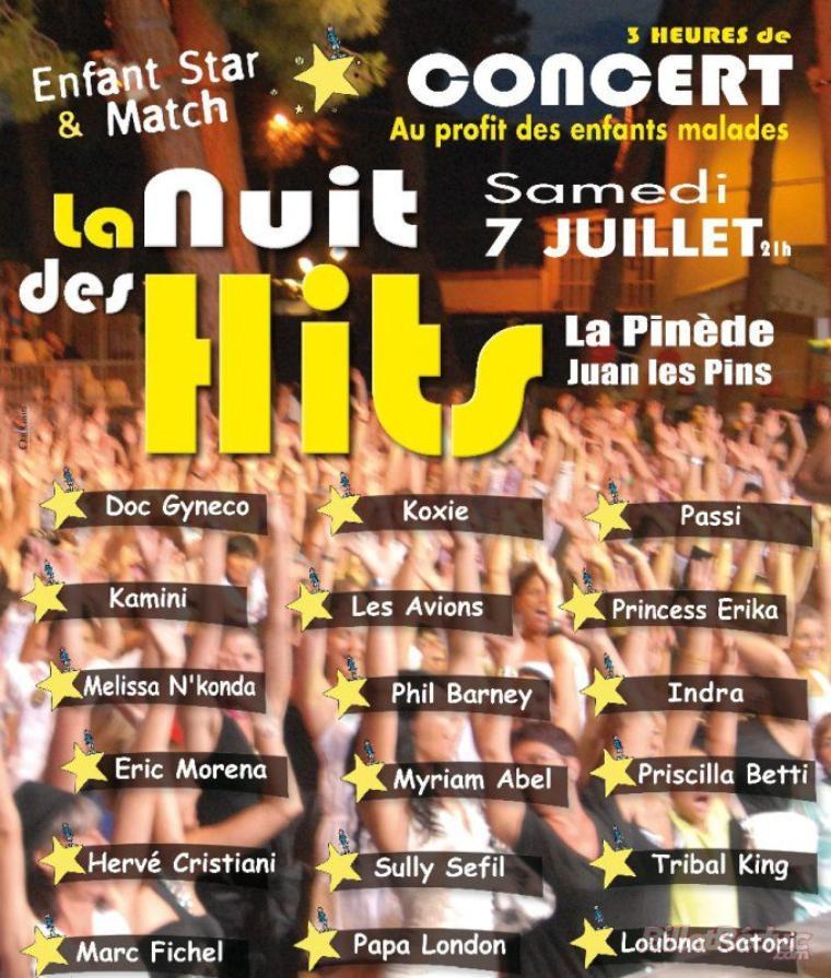 La nuit des hits 2012