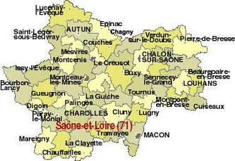 Liste des articles Saône et Loire
