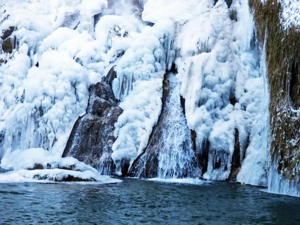 Cascade de Glandieu gelée , 21.01.2017