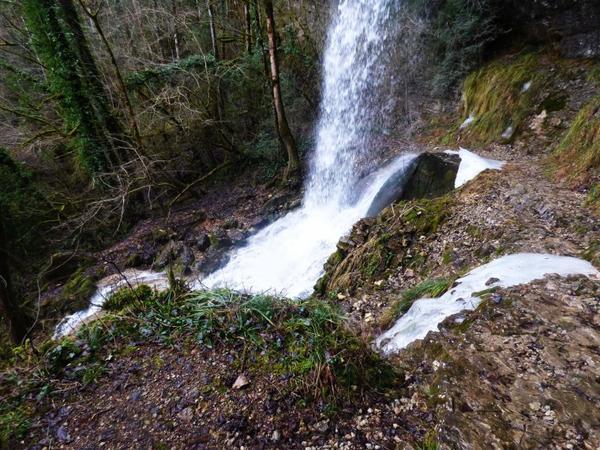 Cascade de Pisse Vache, Matafelon-Grange, Février 2017, suite 2