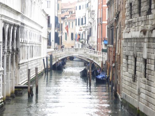 Venise, Novembre 2016 : Pont des soupirs