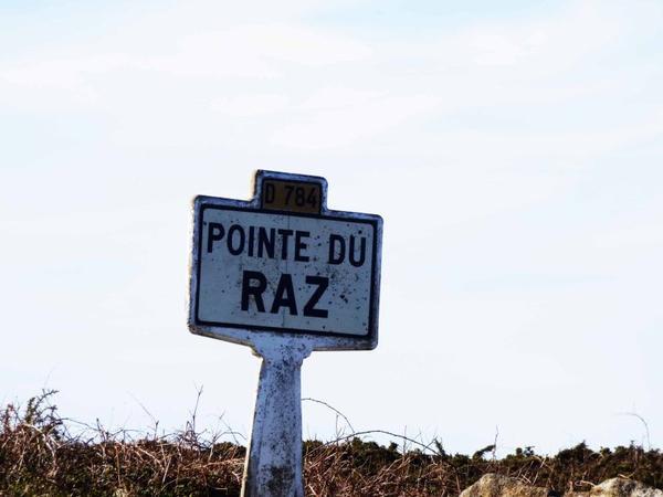 Bretagne, Mars 2017 : Pointe du Raz