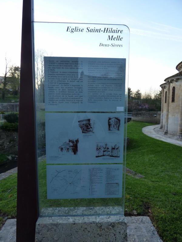 Eglise St Hilaire de Melle, mars 2017