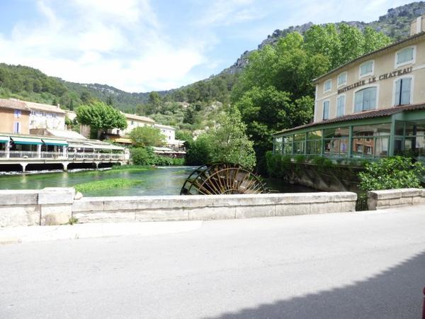 Village de Fontaine de Vaucluse,Mai 2017